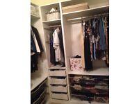 Ikea Pax wardrobe 2xdouble and 1xsingle