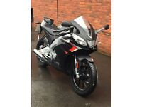 Aprilia RS4 RS50 Black Scooter/Bike only done 40 mile,LIKE New