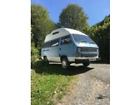 VW Camper - hightop, water cooled, diesel MOT to May 11 2019. Comfy and drives well.