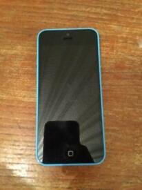 iPhone 5c blue 8gb unlocked