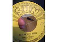 Elvis Presley sun Original 1955 the hardest the second single do get in this condition rare