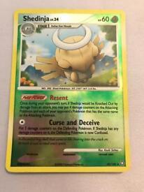 Shedinja Pokemon card. Rare