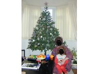 Artificial Realistic Traditional Shaped Christmas Tree - Large Six 6 foot high