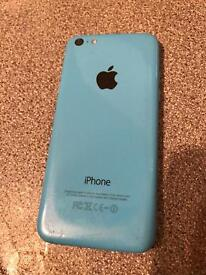 I PHONE 5c in blue.