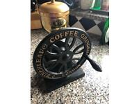 Coffee makers and grinder