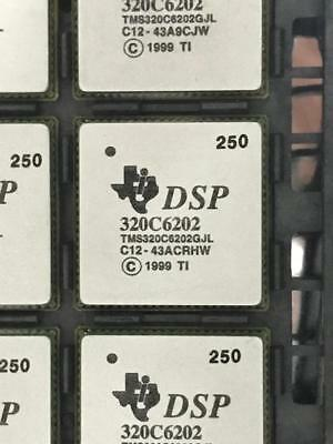 Tms320c6202gjl250 - Texas Instruments Ic Fixed-point Dsp 352-fccsp
