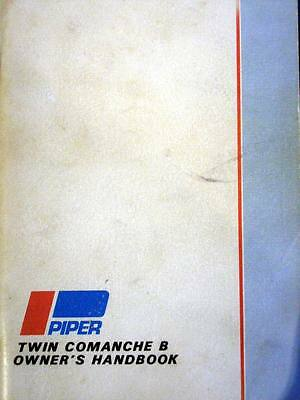"Twin Comanche ""B""  PA-30 Owner's Handbook"