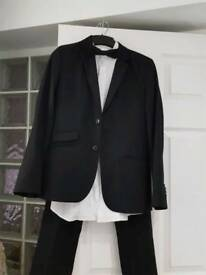 black boys suit