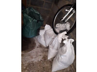 Free - 6 bags of mixed garden earth. Soil/sand and plant material