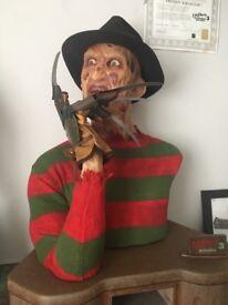 Ecc Freddy Kruger lifesize bust