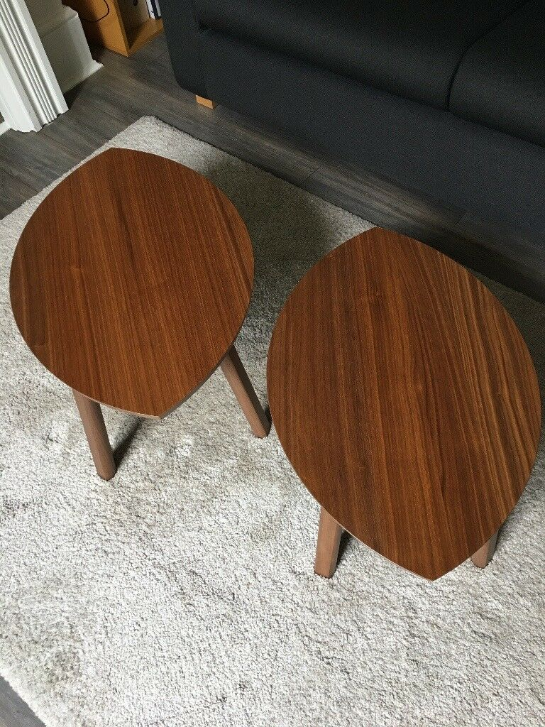 Nest Of Coffee Tables Set 2 Stockholm Ikea Excellent Condition