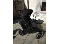 Phil & Teds Dot pushchair (graphite) - nearly new