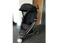 Quinny zap xtra travel system with maxi cosi car seat. Including adaptors