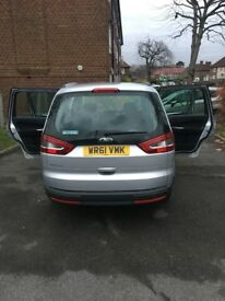 Ford galaxy 61 reg, 2ltr diesel, automatic with semi auto