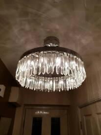 Ceiling light fitting, glamorous, VGC, amazing!!