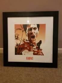 Scarface framed photo