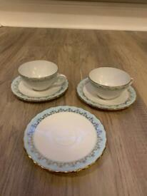 Cup and Saucer x2 with spare saucer