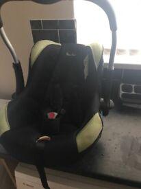 Silver cross car seat n carrier