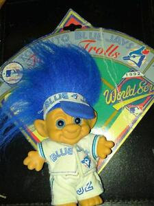 Collectable BLUE JAYS 92 FOREST TROLL #32 Limited Edition on card / Oakville