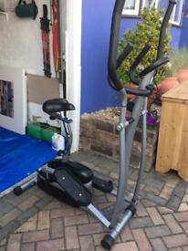 V-Fit Crosstrainer/ Exercise Boke