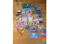 Job lot kids toys activity making kits arts crafts, painting, quiz books, table football, many new