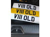 Number plate V111OLD