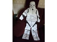 "BOOK DAY MCH 2 - ""Storm Trooper"" Light up Fancy dress costume 5-6 years - Shipley"