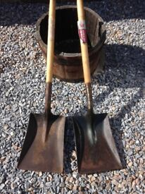 ***TWO SPEAR & JACKSON SHOVELS***AS NEW***