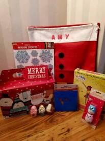 Christmas Sacks with Gifts!! 🎅🎄