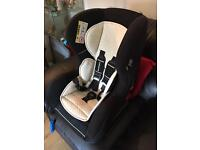 Baby Car Seat non-Isofix Mothercare Black / Cream