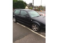 Vw Golf 1.9gt tdi - car starts and drives - spares or repairs