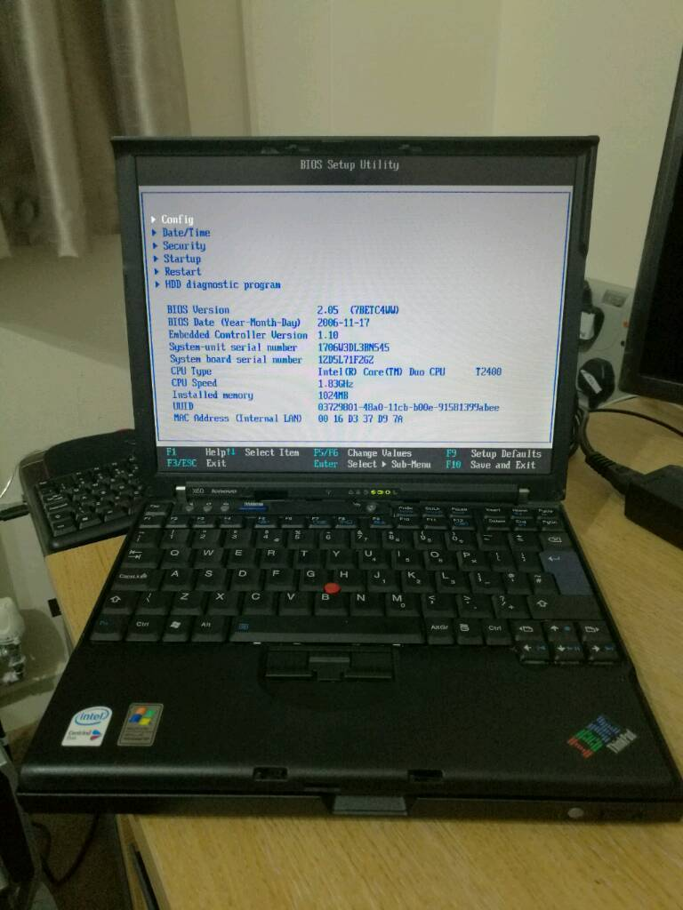 Ibm Lenovo Thinkpad X60 with docking station | in Oldham, Manchester |  Gumtree