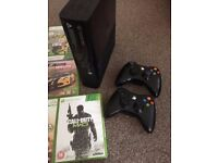 Xbox 360 Latest Console - 30 Games - 2 Control Pads - All Cables - Original Box