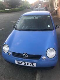 VW LUPO £449 ONO