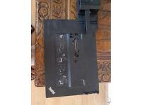 Reduced **Lenovo T410/T420/T430 with power adapter dock £25**