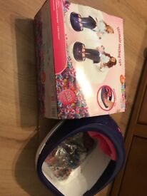 Orbeez spa used once in box girls foot spa