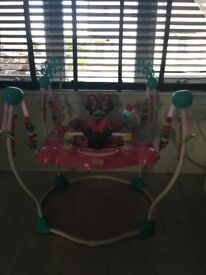 Minnie Mouse bounce and and play gym