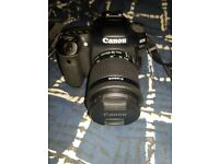 Canon EOS 80D (Like New) + 18-55mm EF-S Lens