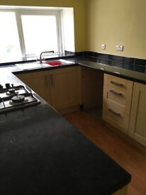 Permanent one bed unfurnished flat to rent.