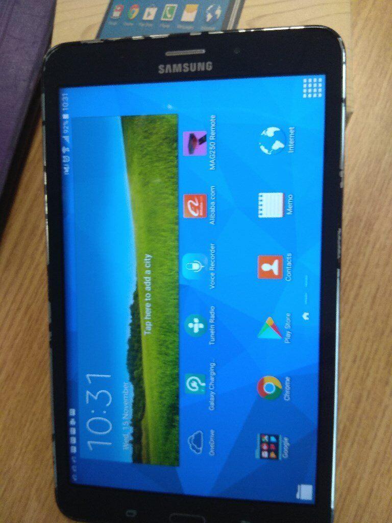 Samsung Galaxy Tab 4 8-inch Tablet (Black) - (Quad Core 1.2GHz, 1.5GB RAM, 16GB , Android Lollipop)