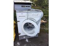 Washing machine and freezer
