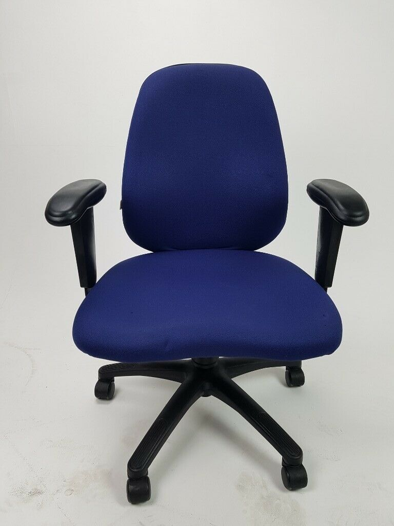 Office Call Centre Home Chair Blue Material Used