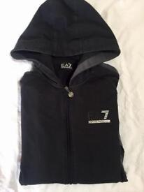 Authentic EA7 hoody small men's