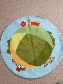 Children's bedroom / play rug
