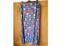 White stuff floor length skirt, size 18