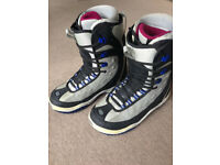 Snowboard Boots by Ride, good condition