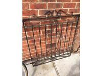 Metal garden gate 110cm x 95cm