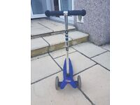 Childs Blue Micro Scooter