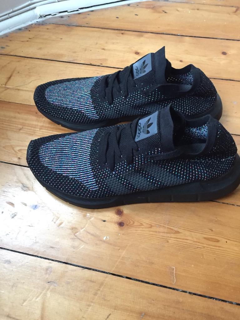 ab290a561 Adidas Swift Run Primeknit Black - Size 11