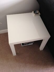 IKEA lack white gloss coffee table